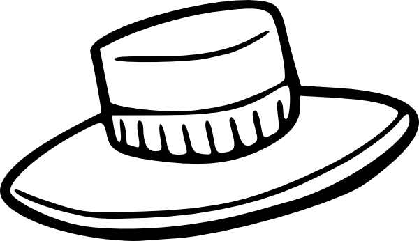 free vector Hat Outline clip art