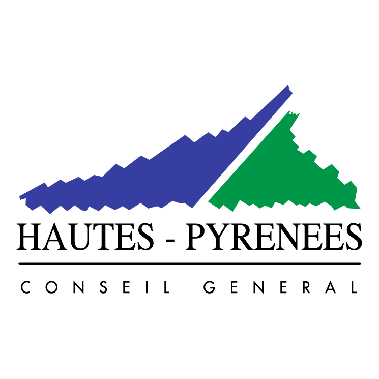 free vector Hautes pyrenees conseil general