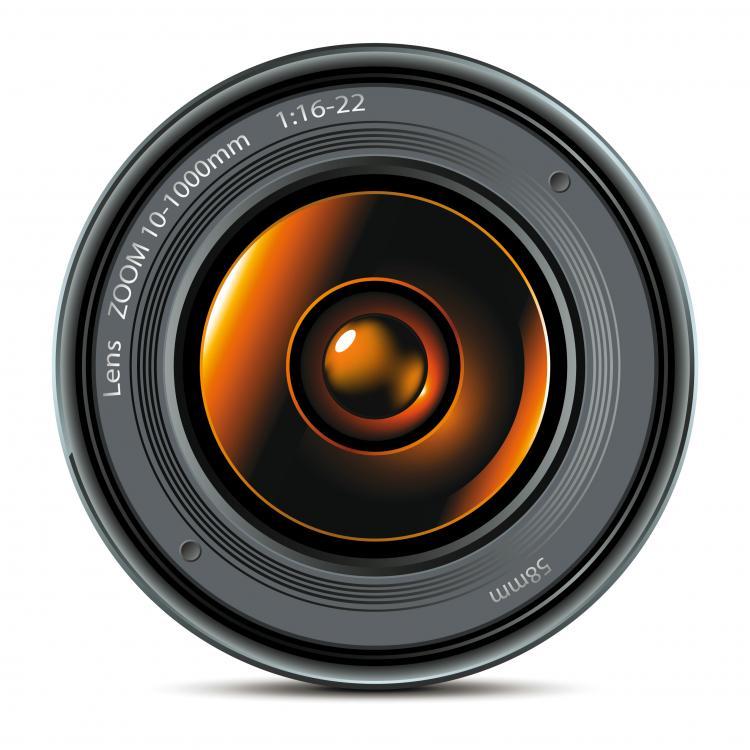Hd camera lens vector Free Vector / 4Vector