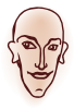 free vector Head clip art