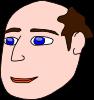 free vector Head Man Light Hair clip art