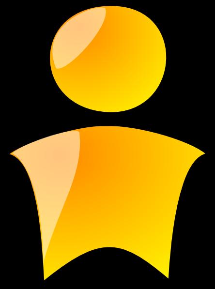 free vector Head Symbol Yellow Person clip art