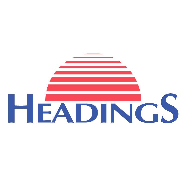 free vector Headings