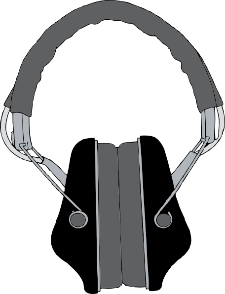 free vector Headphones clip art