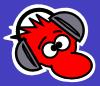 free vector Headphones Listening To Music clip art