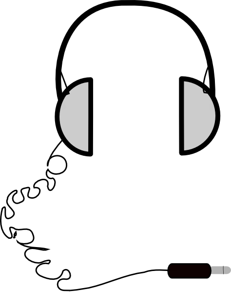 free vector Headphones Simple clip art