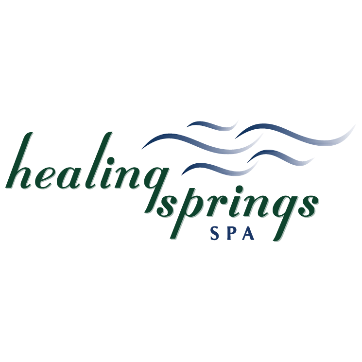 free vector Healing springs spa