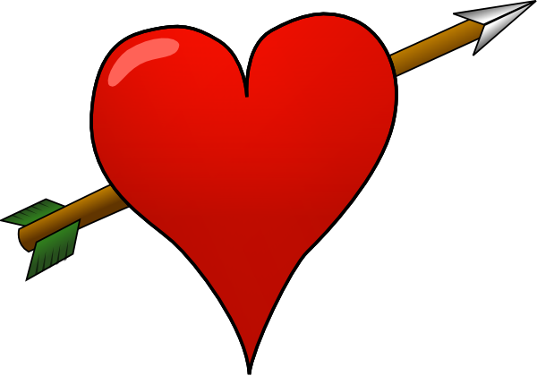 free vector Heart-arrow clip art