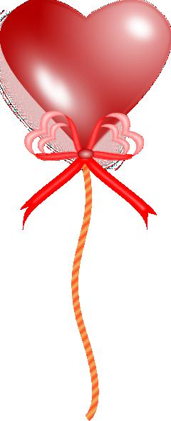 free vector Heart Balloon clip art