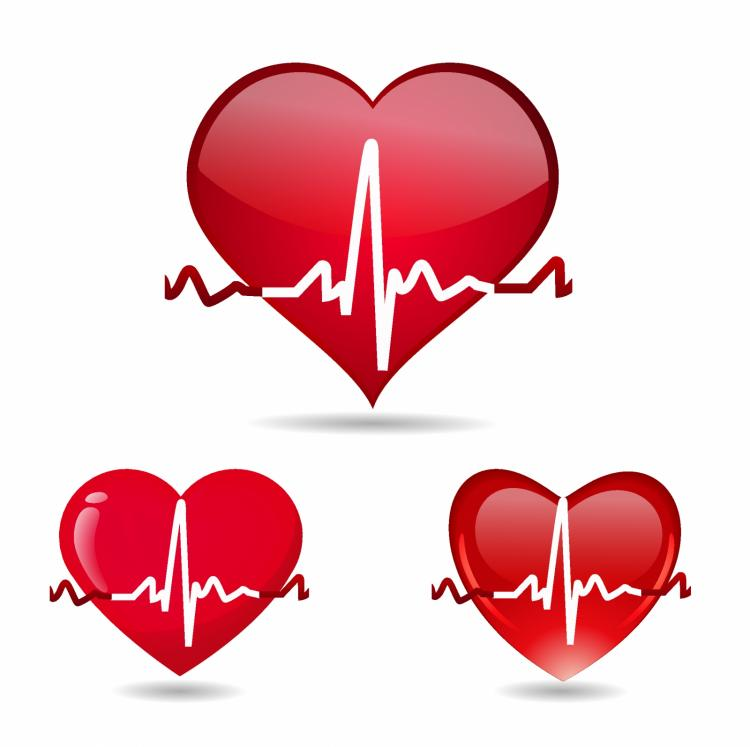 free vector Heart beat