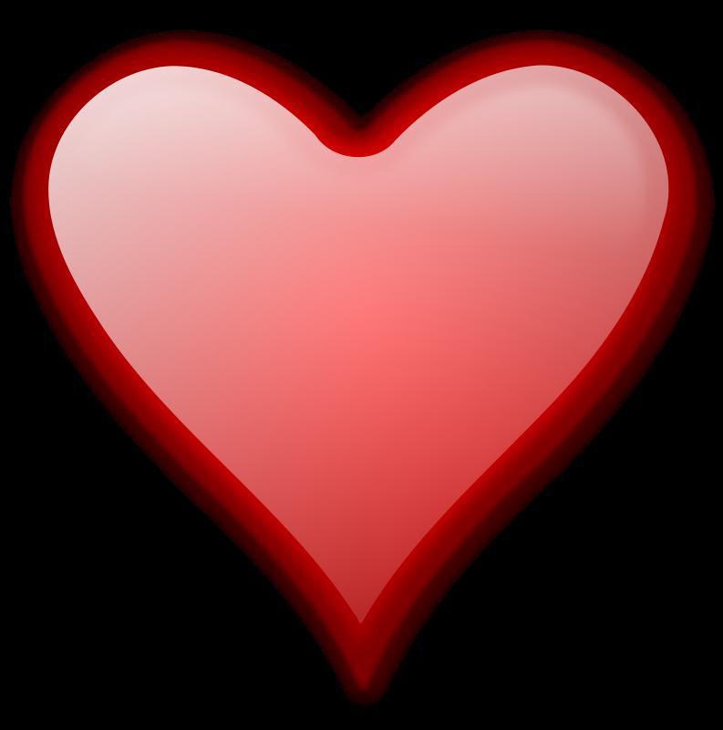 free vector Heart Gloss 2