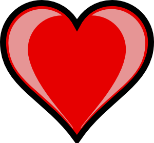 free vector Heart Highlight clip art
