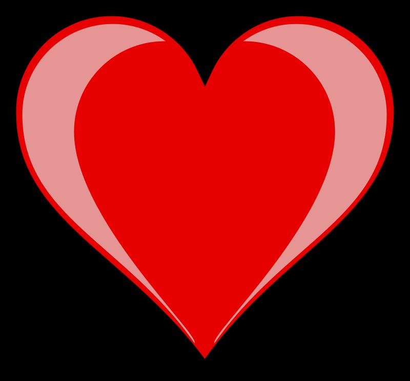 free vector Heart highlight