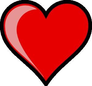 free vector Heart Left-highlight clip art