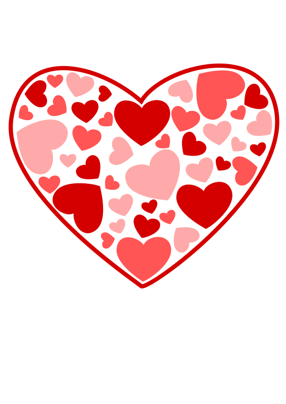free vector Heart of Hearts