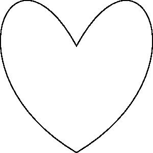 free vector Heart Outline clip art