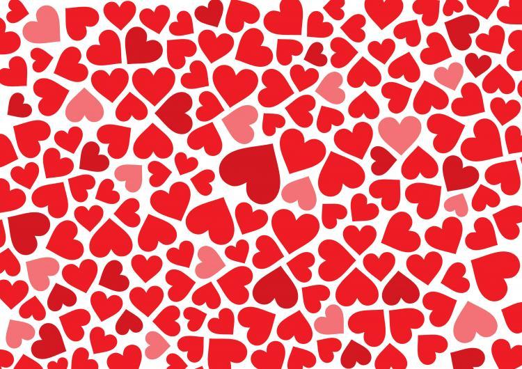 holiday hearts wallpaper vector - photo #46