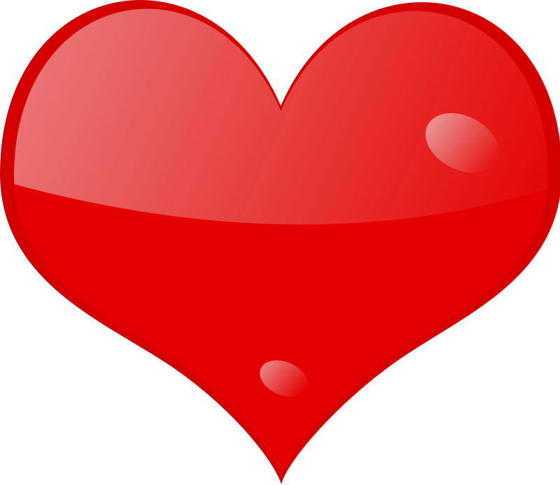 free vector Heart-shine