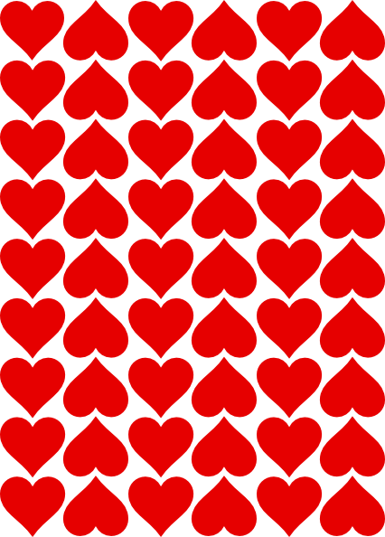 free vector Heart Tiles clip art