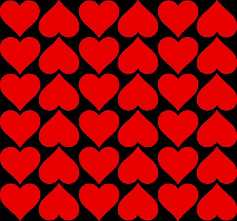 Heart tiles Free Vector / 4Vector