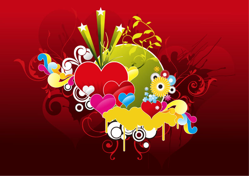 free vector Heart Vector Graphic