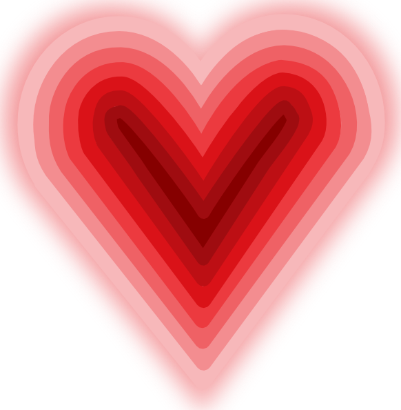 free vector Heart With Deep clip art
