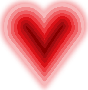 Heart With Deep Clip Art Free Vector 4Vector