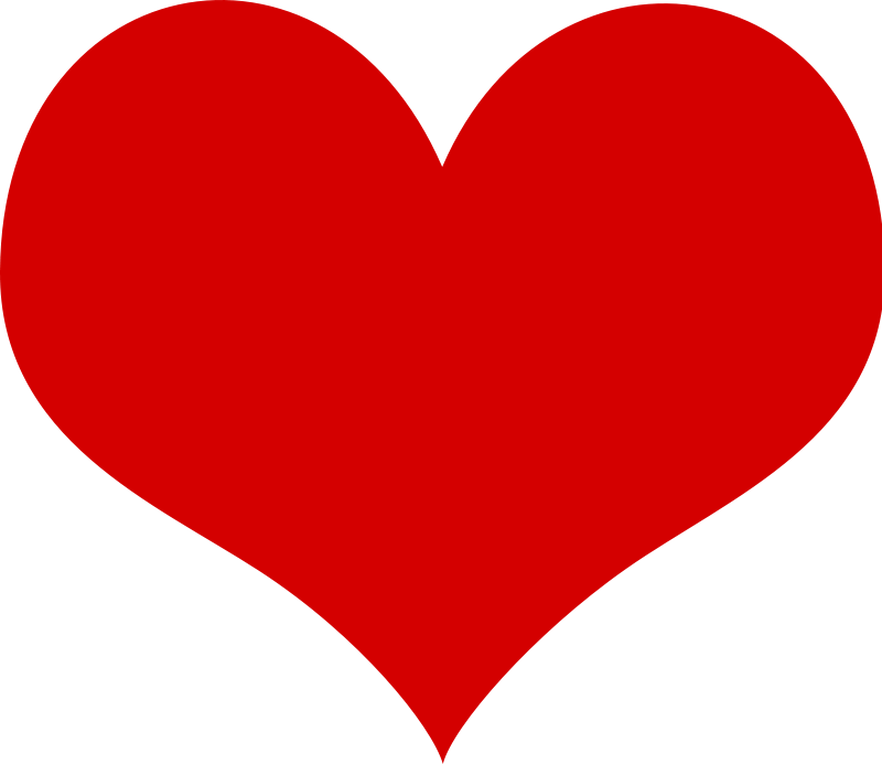 Heart Free Vector / 4Vector