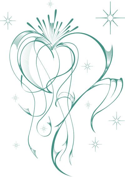 free vector Heartshaped pattern vector