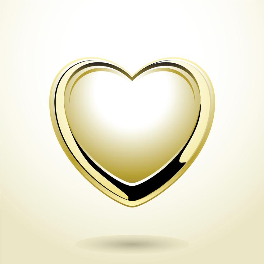 free vector Heartshaped vector diamond jewelry pendant