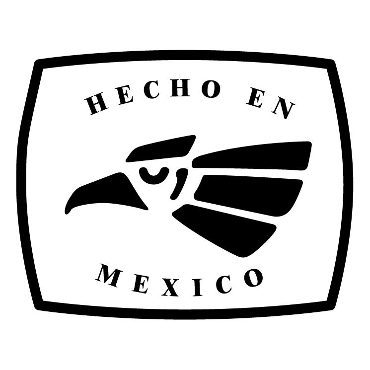 free vector Hecho en mexico 1