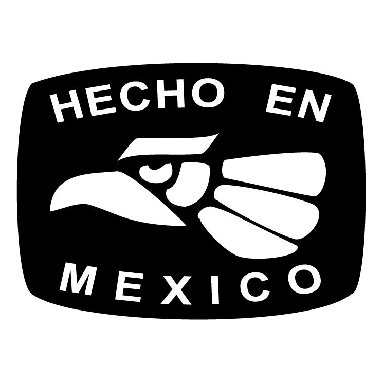 free vector Hecho en mexico