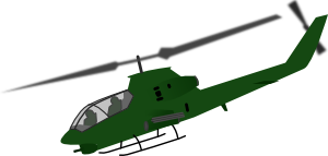 free vector Helicopter clip art