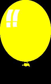 free vector Helium Baloon clip art