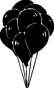 free vector Helium Baloons clip art