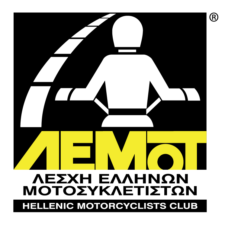 free vector Hellenic motorcyclists club