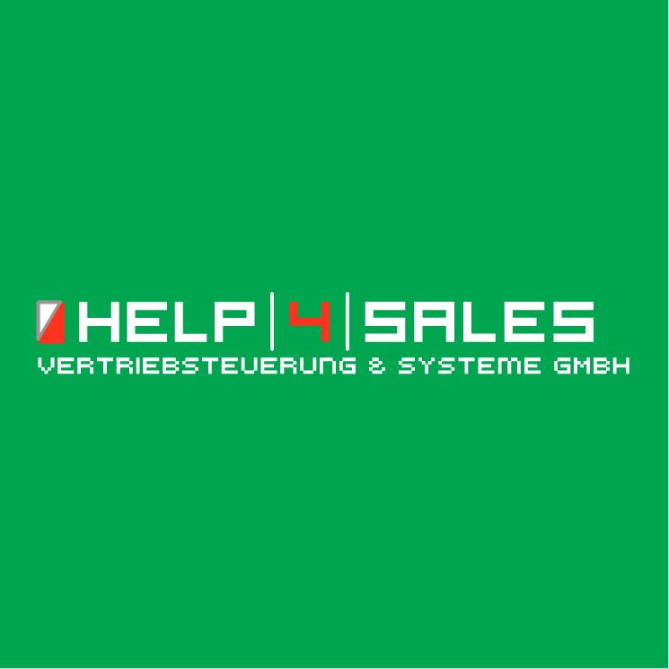 free vector Help 4 sales