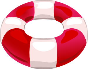 free vector Help Save Life Float clip art