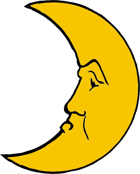 free vector Heraldic Crescent clip art