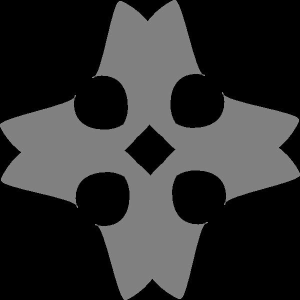 free vector Heraldic Cross clip art
