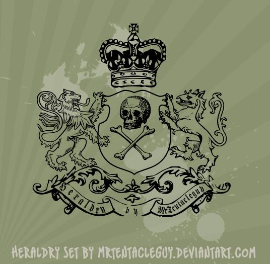 free vector Heraldic  Vector
