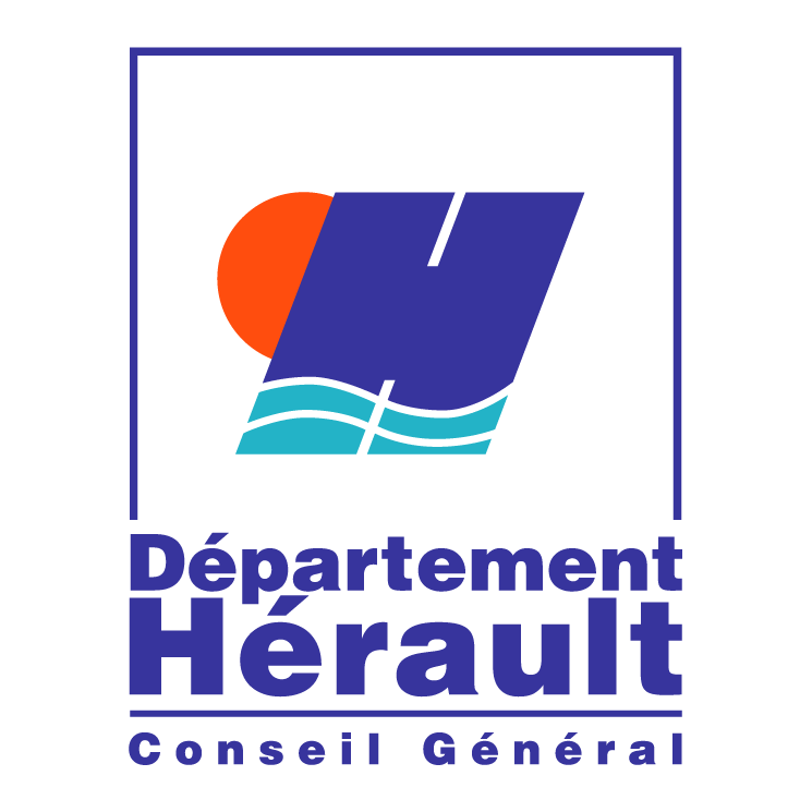 free vector Herault departement conseil general