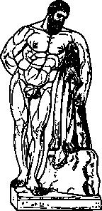 free vector Hercules clip art