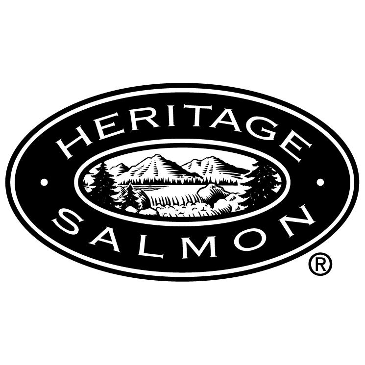 free vector Heritage salmon