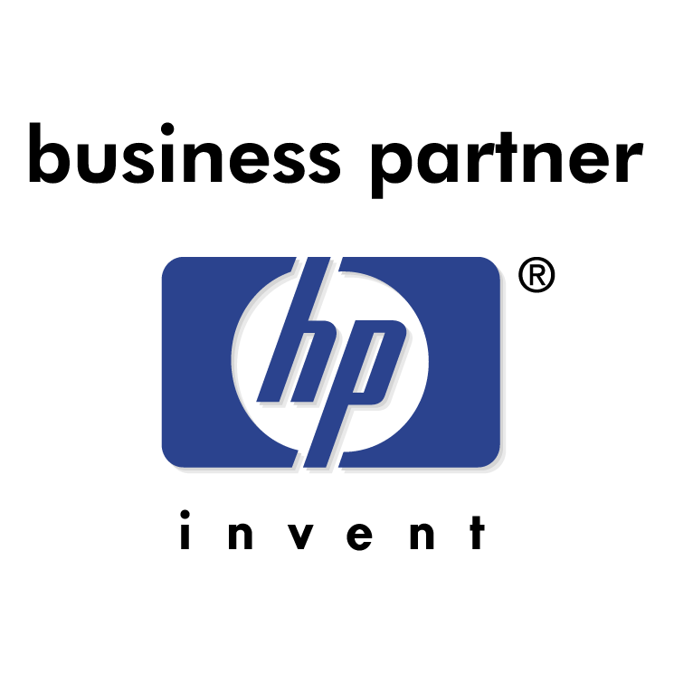 free vector Hewlett packard business partner 0