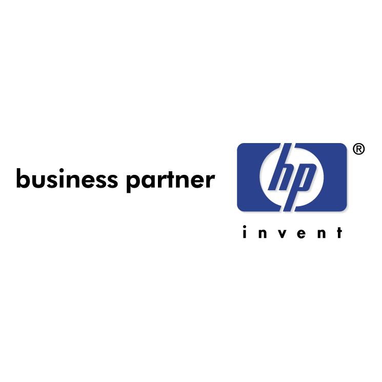 free vector Hewlett packard business partner
