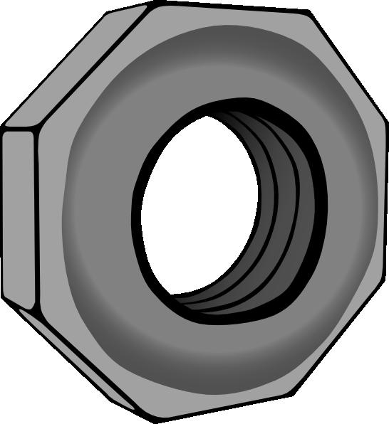 free vector Hex Nut clip art