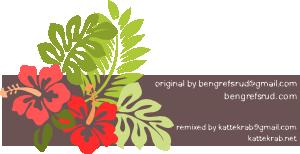 free vector Hibiscus Remixed clip art