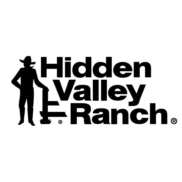 free vector Hidden valley ranch