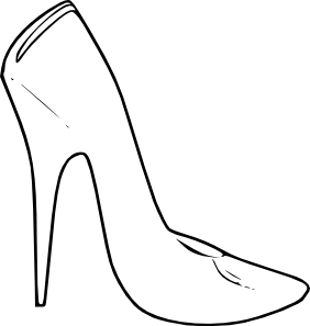 free vector High Heel Shoes Women Fashion clip art
